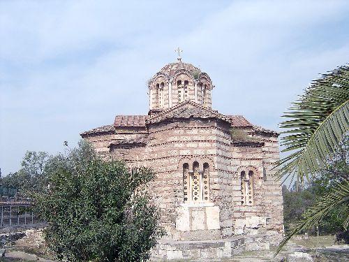 église de l'agora