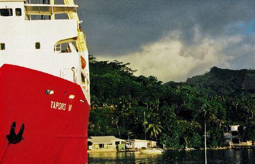 port de huahiné