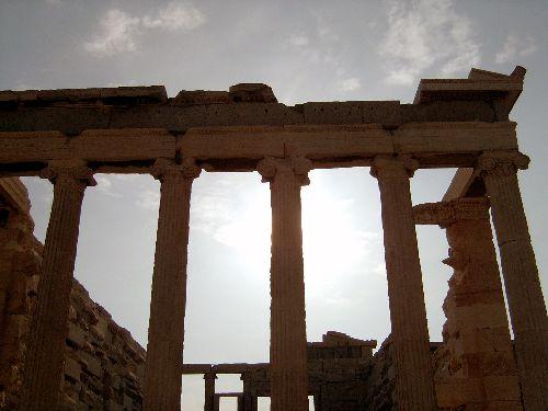 temple des caryatides Athènes