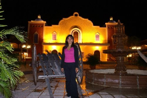 A l'intérieur de l'Hacienda Doña Isabel