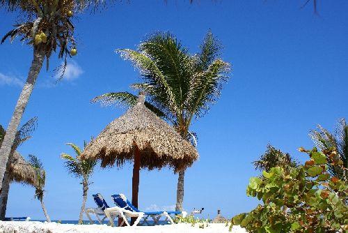 Toujours la plage de l'Hotel...
