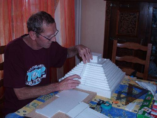 Construction du Temple