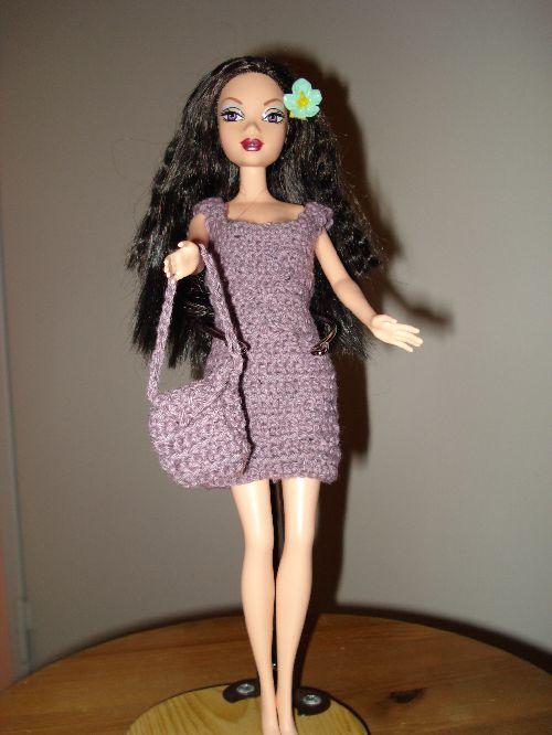 Une petite robe au crochet, l\'une de mes premières réalisation
