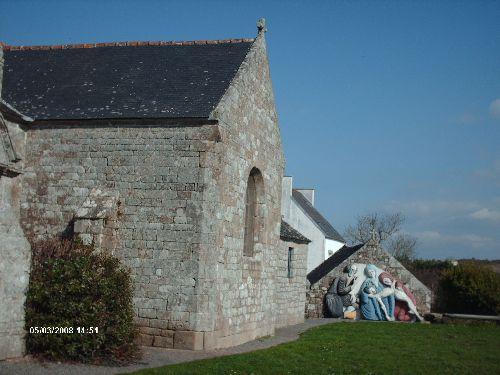 L'église de Plogoff et sa sculture de bois peinte