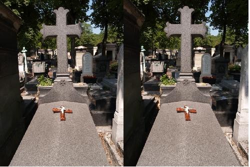 Croix sur une Tombe