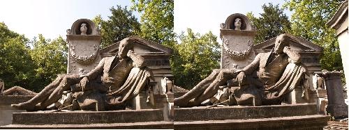 La tombe de Visconti