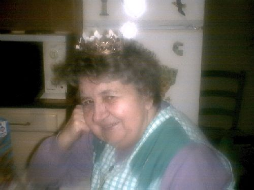 Ma mère Jacqueline