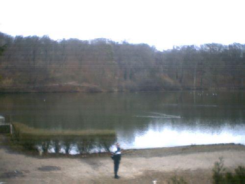 Marche autour des étangs de Commelles (Oise) (10 janvier 2008)