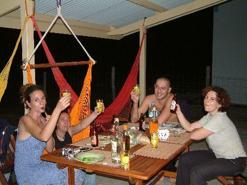 1ère soirée en Guyane, trop bien!
