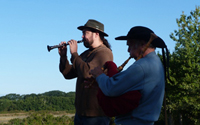 Sonneurs traditionnels bretons