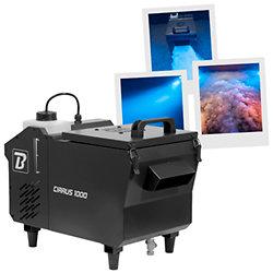 CIRRUS 1000 - BOOMTONE DJ MACHINE À FUMÉE LOURDE Machine à fumée lourde à base d'eau Cirrus 1000 de BTDJ, Ne nécessite pas de glace !