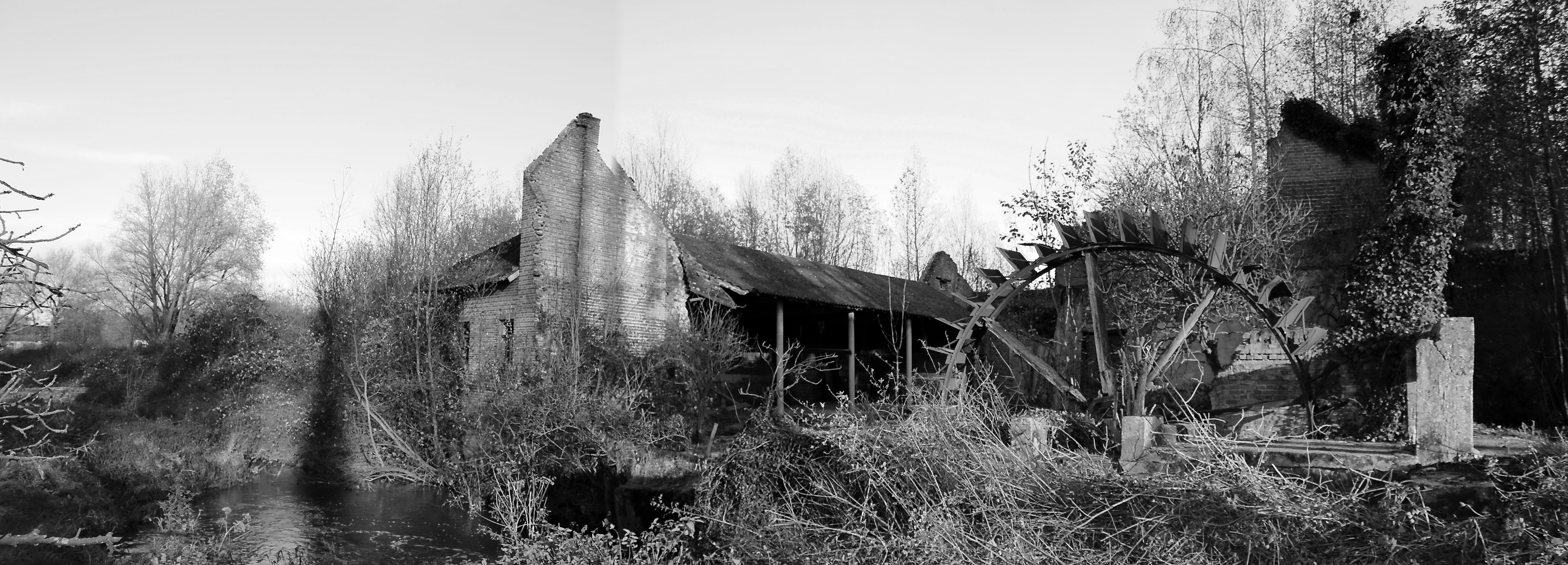 Fortifications Belges et Maginot + Les moulins en Belgique