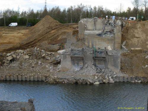 Voici bientôt la fin des travaux de démolition du pont