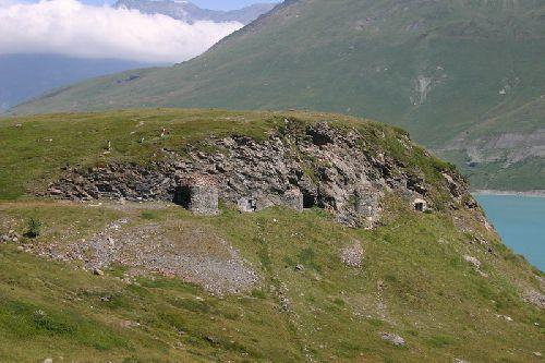 Mont Cénis  Ouvrages Italiens