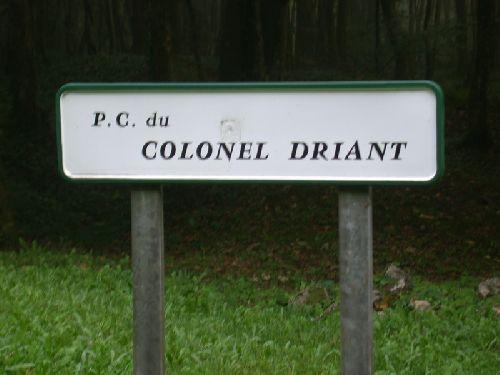 PC du colonel Driant