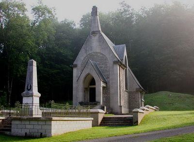 Chapelle du village détruit de Beaumont.