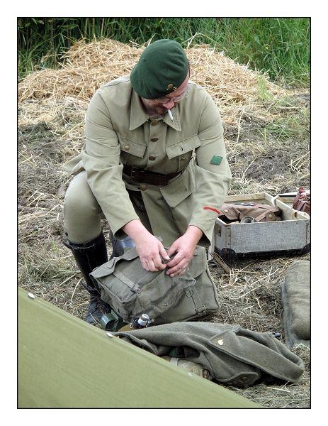 le camp des chasseurs Ardennais
