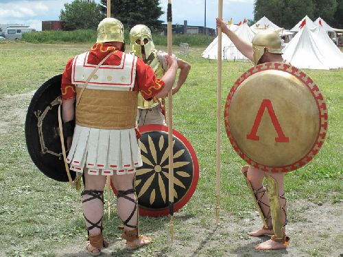 Le camp des Hoplites