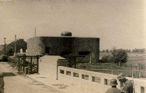 Le bunker sous l'occupation
