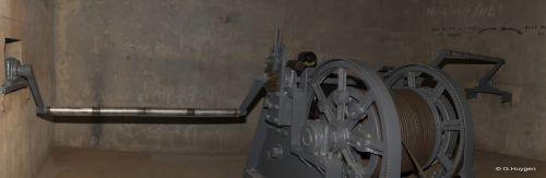 Machinerie du monte charge