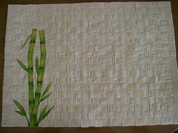 Set de table bamboo