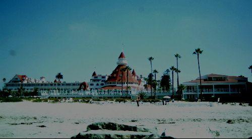 SAN DIEGO; un petit (!!!!) hôtel local sur la côte