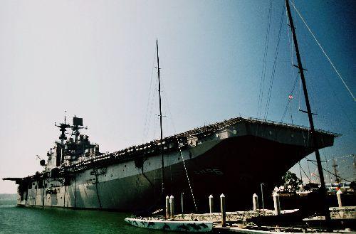 SAN DIEGO, la baie de San Diego reste une des bases très actives de l'US Navy dans le pacifique