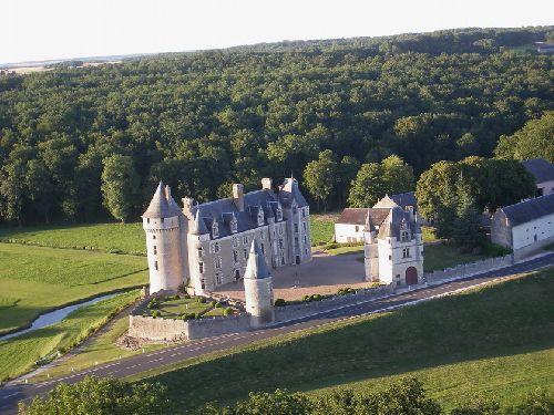 Château de MONPOUPON près de LOCHES