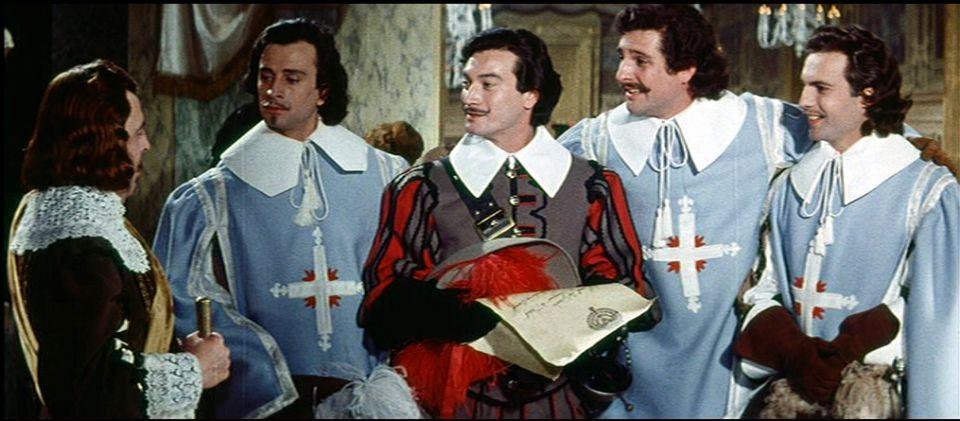Mes trois Mousquetaires !