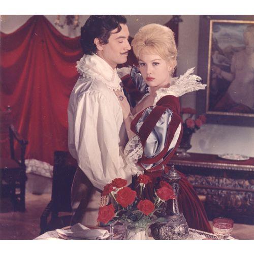Gérard Barray et sa Milady, Mylène Demongeot