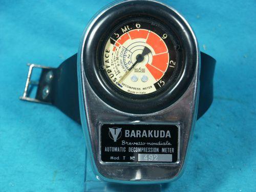 DECOMPRESSIMETRE SOS -BARAKUDA n° 492
