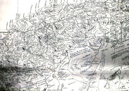 CARTE PAR TRIBUS-1846