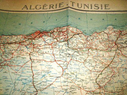 ALGERIE-TUNISIE-1954