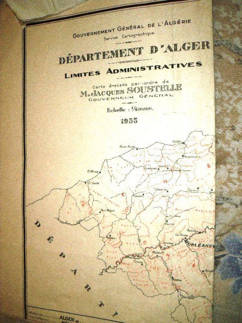 DEPARTEMENT D'ALGER-1955