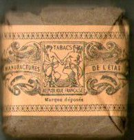 Bourse de tabac pour les troupes- 1ere guerre mondiale