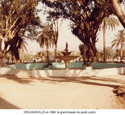 le jardin public en 1984