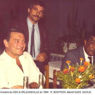 Anciens du GSO à Al-Asnam en 1984