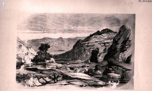 LES GROTTES DU DAHRA ( 1845)