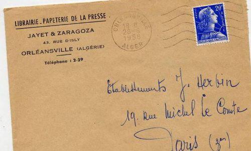 Enveloppe ( librairie Jayet