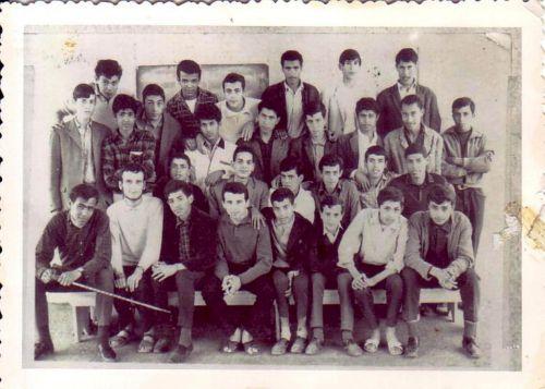 Lycée Essalem 1966/1967-1ere tech-math.