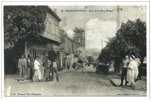 Rue de la place Robert