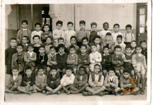 une classe en 1953