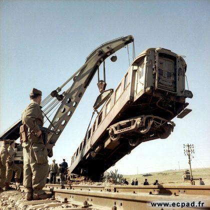 Déraillement du train prés de Oued Fodda