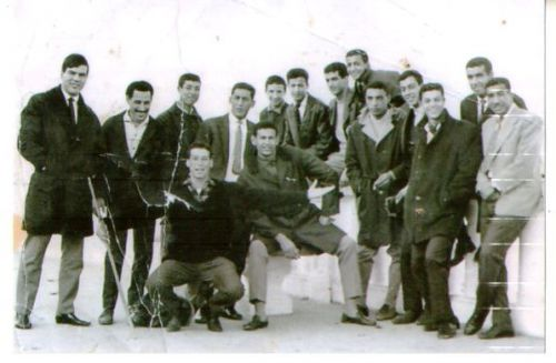 photo souvenir des anciens de l'ASO