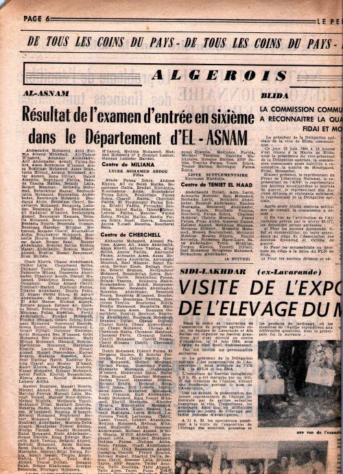 S'Hab sixieme-22/6/1964