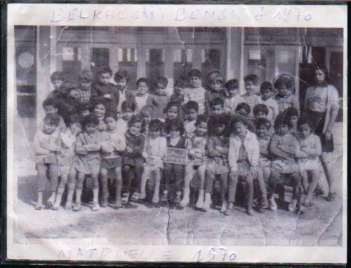Ecole Maternelle 1970