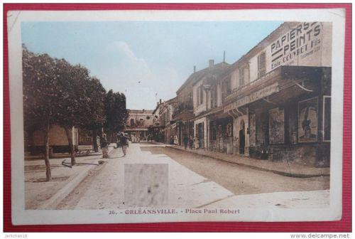 Place Paul Robert-( Au fond le cinéma Splendide qui deviendra après