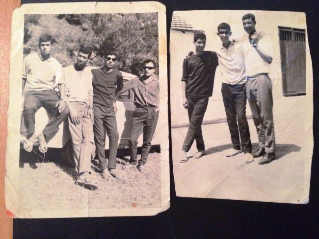 photos souvenirs de Boutebel Mohamed et ses amis