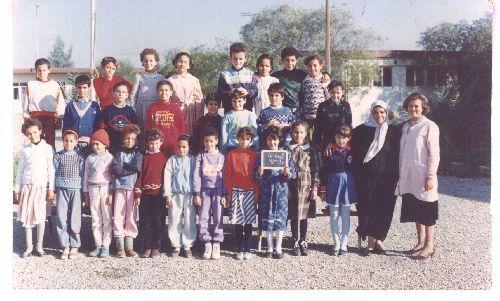 photo souvenir de la classe de l ecole BENBADIS radar