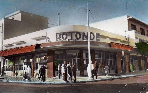 LA ROTONDE EN 1961